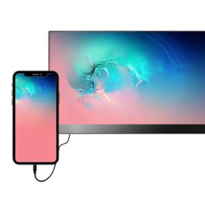 """Écran tactile LCD V7 L156TCH-1G 39,6 cm (15,6"""") 16:9 15 ms - 406,40 mm Class - 10 Point(s) Écran multi-tactile - Résolutio"""